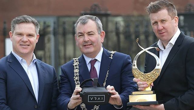 VRAI wins the Dublin City Enterprise award